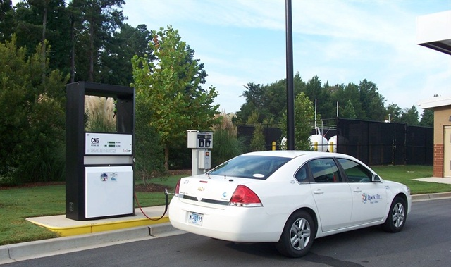 The City owns and operates one publicly-accessible CNG fueling station.