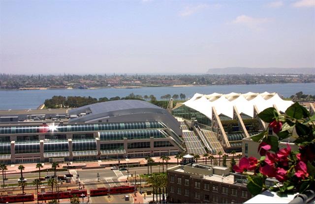 Photo of San Diego Convention Center. Photo via Joanne DiBona/San Diego CVB