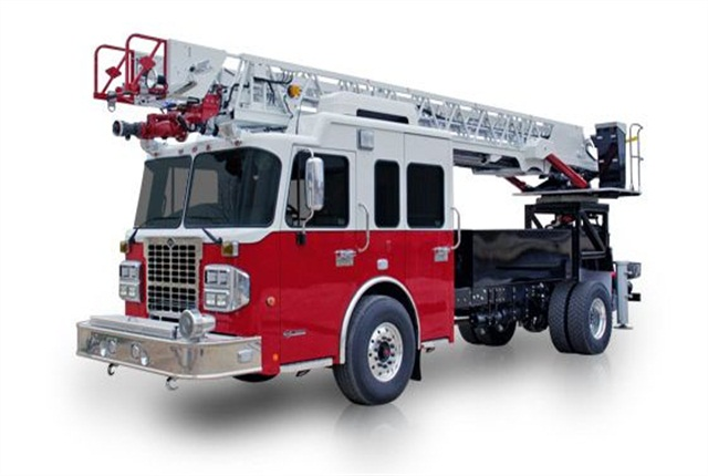 The Series 75 Aerial cab and chassis from Spartan Chassis.