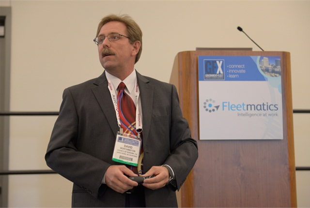 David Worthington of the County of Sonoma, Calif., discusses top fleet management mistakes. Photo by Vince Taroc.