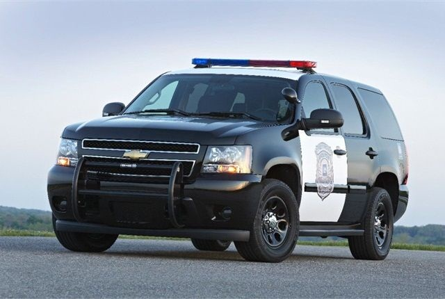 Pictured is the 2014 Chevrolet Tahoe police vehicle. Photo courtesy of GM