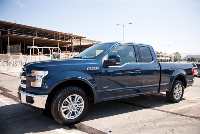 Photo of 2015 F-150 Lariat by Vince Taroc.