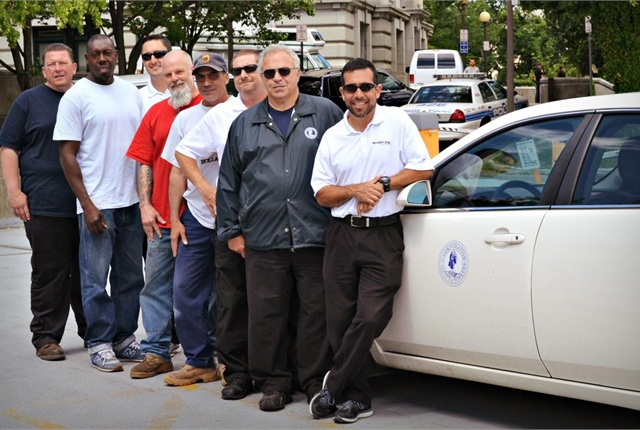 Yonkers city employees participate in the city's pilot EcoDriving Training Program. Photo via City of Yonkers.