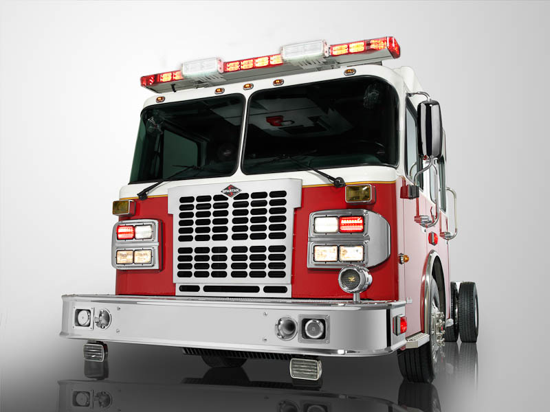Spartan Recalls Emergency Vehicles for Tire Deflation