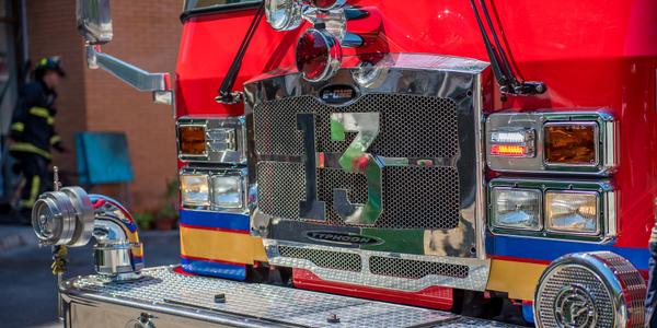 Photo of a fire truck via Pixabay