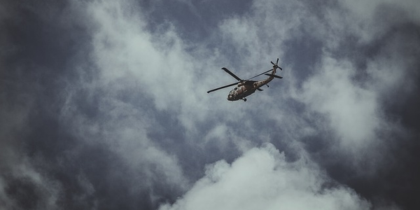 Photo of a helicopter via Pixabay
