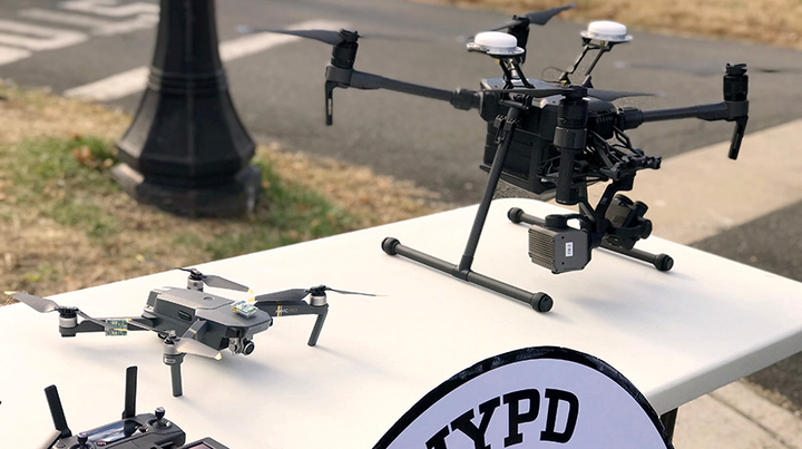 The new unmanned aircraft system (UAS) program consists of 14 drones.