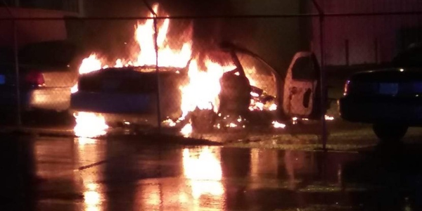 SC Sheriff's Vehicles Burned in Apparent Arson