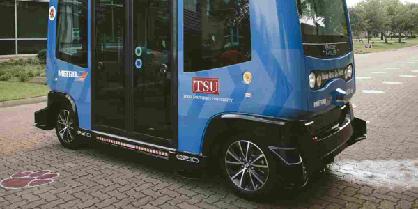Texas University Launches Autonomous Shuttle Pilot