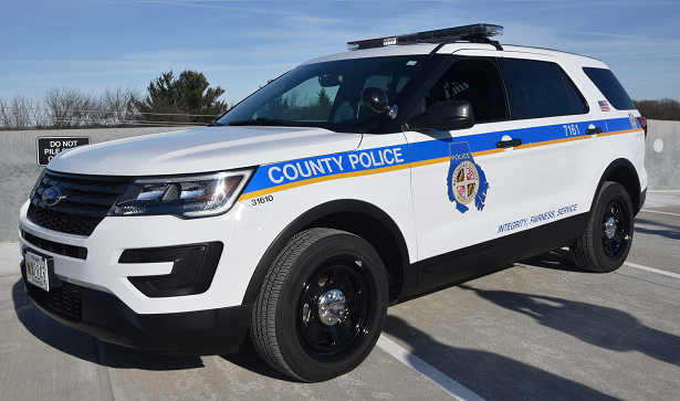 The Baltimore County Police Department is replacing its patrol cars with SUVs over the next year.