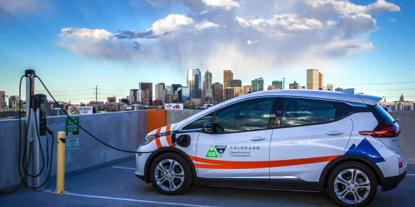 The State of Colorado has 35 electric vehicles in its fleet and has purchased 26 more this...