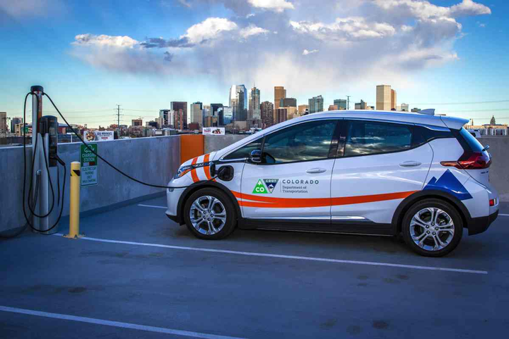 The State of Colorado has 35 electric vehicles in its fleet and has purchased 26 more this fiscal year.  - Photo courtesy of State of Colorado