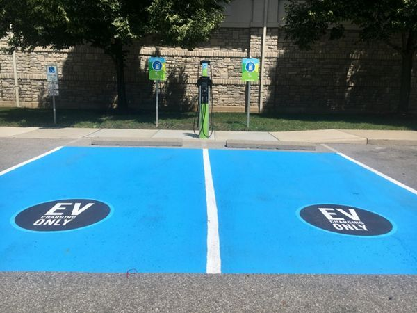 Dublin has a new dual-port Level 2 charger.
