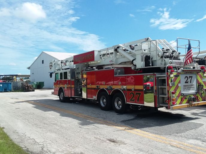 First Vehicle Services will manage, maintain, and repair Seminole County's fire department vehicles.