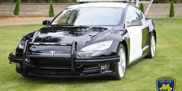 The Fremont (Calif.) Police Department acquired a 2014Tesla Model S, which is being equipped...