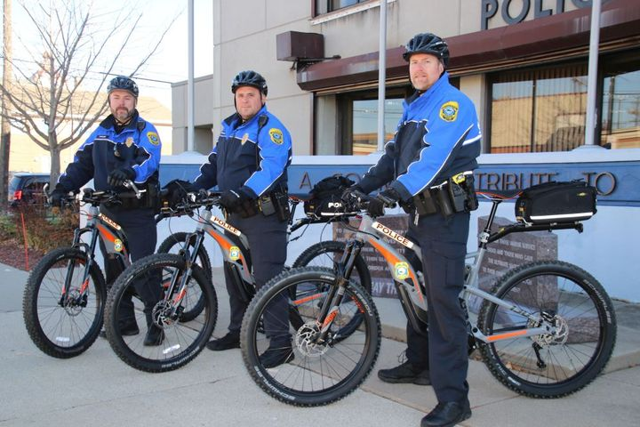 The Green Bay, Wis., Police Department's community officers use the electric bikes.