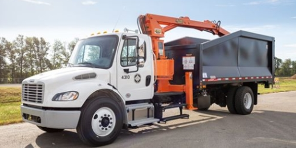 The City of Jonesboro, Ark., has a new knuckleboom for its Sanitation Department.