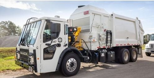 Two automated refuse trucks also joined the Jonesboro fleet.