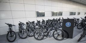 LAPD Rolls Out Electric Bikes