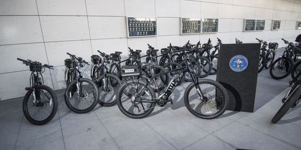 The LAPD's eBikes will be used where bicycles are currently used now.