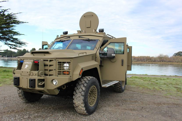 Humboldt County recently purchased a Lenco BearCat all-terrain armored response vehicle. - Photo courtesy of Humboldt County Sheriff's Office