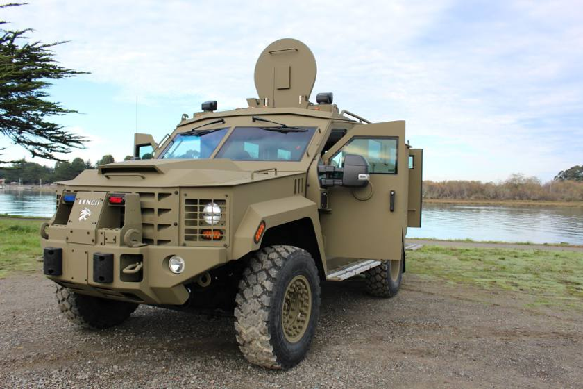 Humboldt County recently purchased a Lenco BearCat all-terrain armored response vehicle.