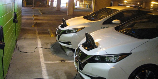 New Jersey City University has added three Nissan Leaf EVs.