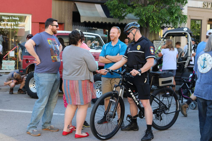 The City of Pittsburg, Kan., believes bike patrols improve community engagement.