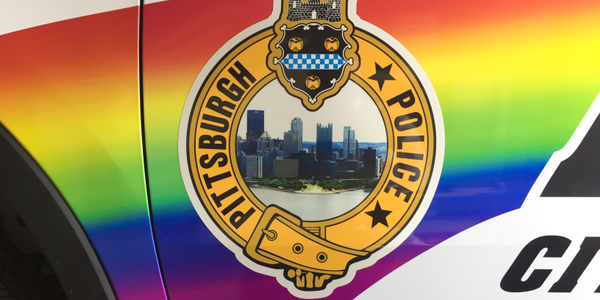 Pittsburgh Patrol Car Celebrates Pride Month