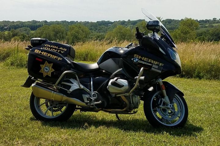 Douglas County Sheriff's Office added two BMWs to its newly formed motorcycle unit this year.  - Photo courtesy of Douglas County Sheriff's Office