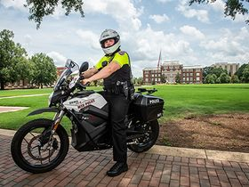 Mississippi State University Adds Motorcycle Patrol