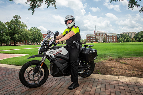 The agency added two electric motorcycles from Zero Motorcycles.