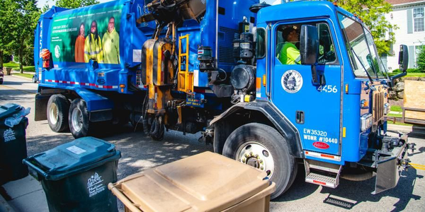 The City of Madison's fleet vehicles that run on diesel, including refuse trucks, will now be...