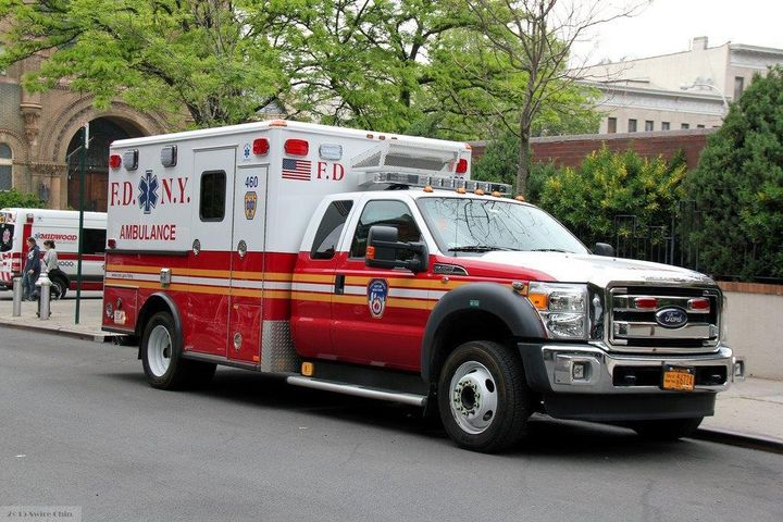 The latest batch of ambulances to hit the streets of New York City are equipped with auxiliary power units to reduce idling.  - Photo courtesy of REV Group