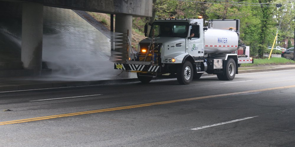 Rhode Island DOT Adds Bridge Washing Trucks