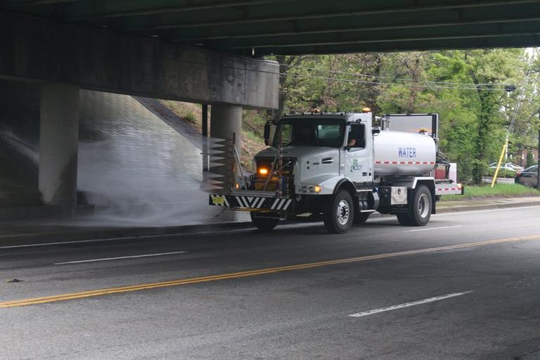 Rhode Island DOT Adds Bridge Washing Trucks