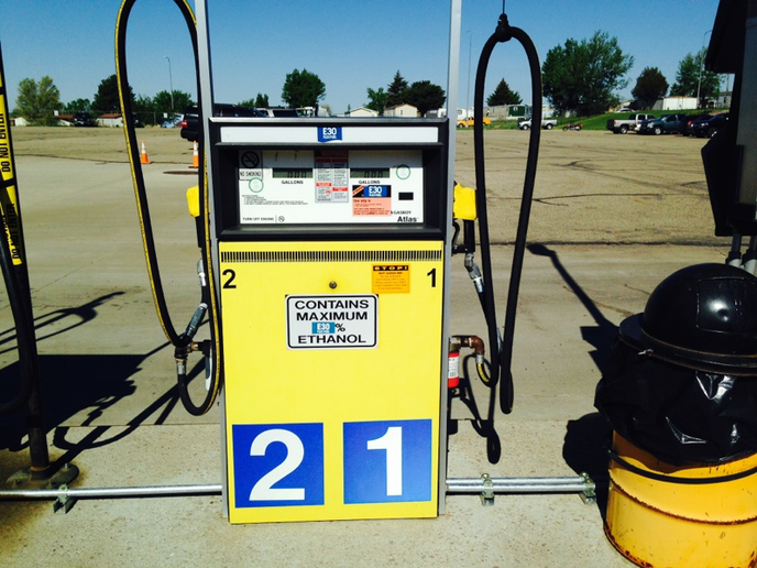 Ethanol is available at 95 of the state's fueling sites.