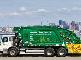 Seattle's Contractors Switch to Fossil-Fuel-Free Refuse Fleet