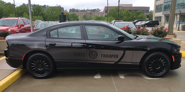 North Carolina State Highway Patrol Debuts 'Ghost Car'
