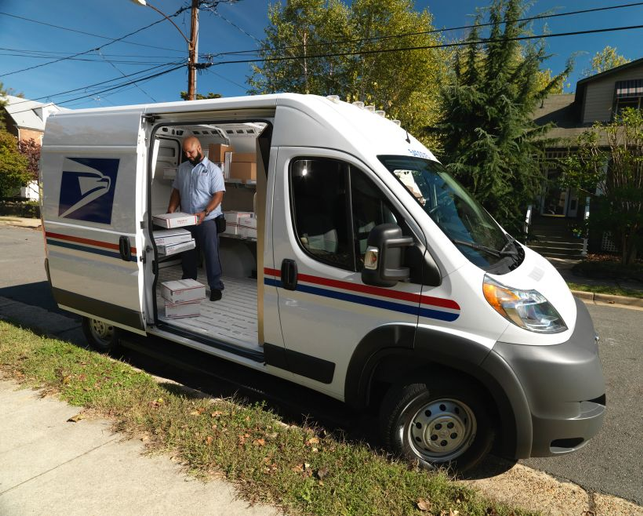 The Postal Service fleet consists of more than 230,000 vehicles.