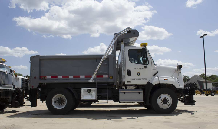 About one-third of the City of Wichita fleet has already opted in to AVL technology.  - Photo courtesy of City of Wichita