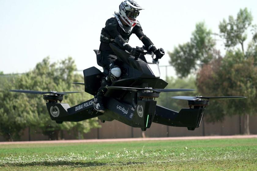 Dubai Police Adds Hoverbike