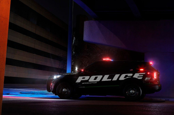 Ford revealed its all-new Police Interceptor Utility hybrid vehicle.