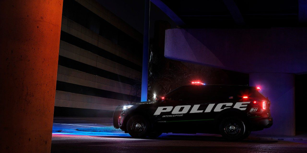 The Ford Police Interceptor Utility Hybrid provides 24 MPG combined.