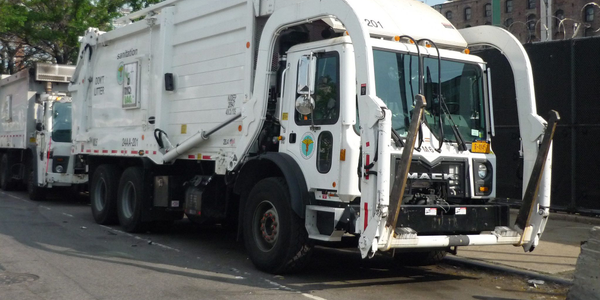 The city of will use renewable diesel to fuel its refuse trucks. Photo via Jason Lawrence/Flickr