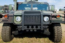 Students Help Convert Donated Humvee