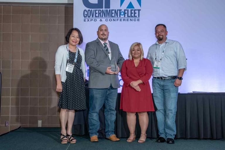 The Denver fleet team with Senior Editor Roselynne Reyes