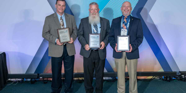 Elite Fleets at the Honors Celebration were (l-r): Brian Franklin from the City of Tulsa,...