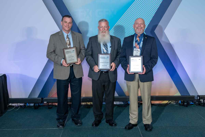 Elite Fleets at the Honors Celebration were (l-r): Brian Franklin from the City of Tulsa, Okla.; Craig Donovan from San Bernardino County, Calif.; and Craig Croner from the City of Boise, Idaho.