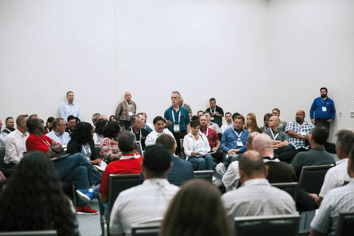 Session attendees at GFX 2018 in San Diego